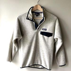 Men's Synchilla® Snap-T® Fleece Pullover Oat xxs